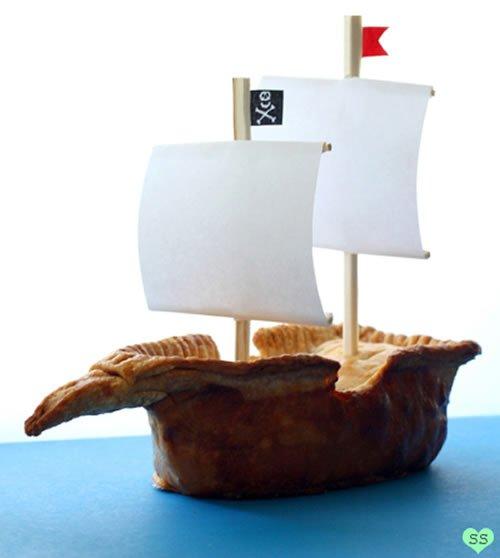 Pirate Ship Pie