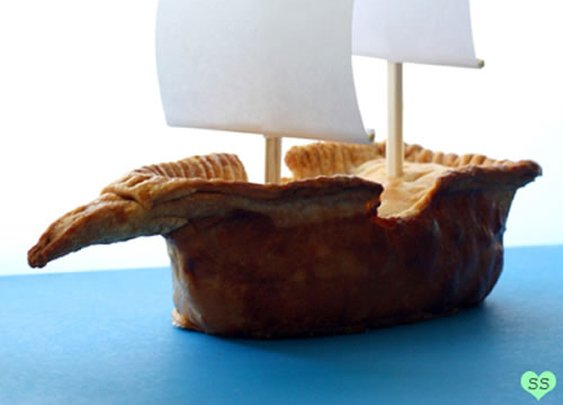 Pirate Ship Pie