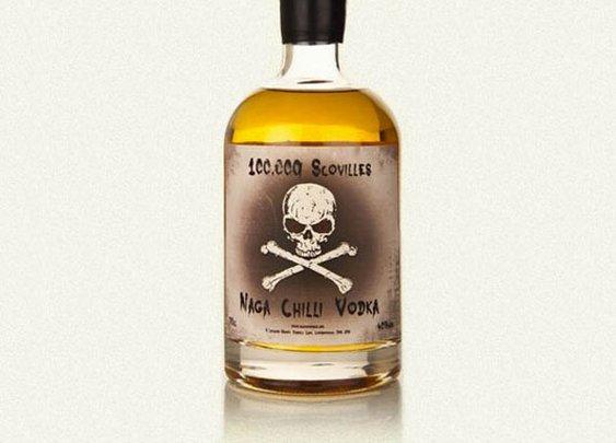 100,000 Scovilles - Naga Chilli Vodka