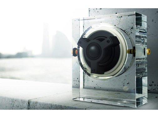Kenwood Odelic Glass Speakers