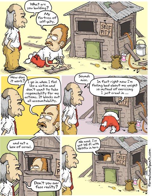 Formal Sweatpants - New Comics - Self-PityFort