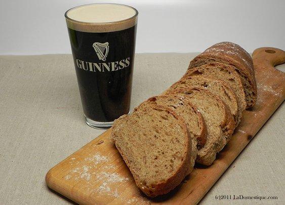 Anise & Guinness Bread   La Domestique