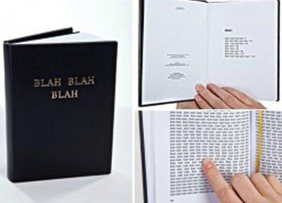 Blah Blah Blah Book by Gogelmogel | Design Milk