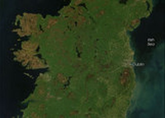 Ireland from Space | Why Ireland Is So Green | OurAmazingPlanet.com