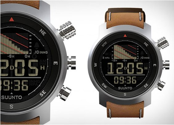 Suunto Elementum Ventus Brown Leather