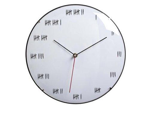 Alcatraz – wall clock