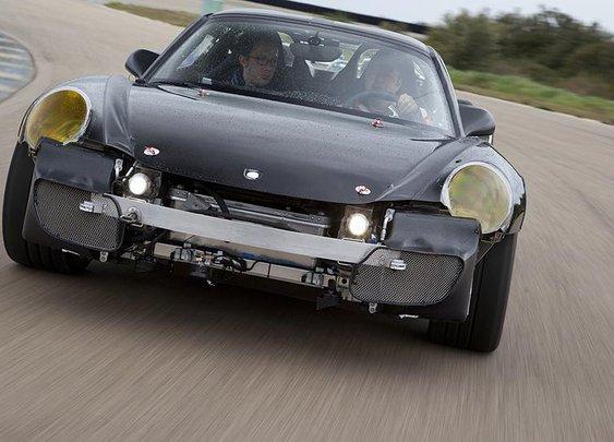 Porsche 918 Spyder: The first ride in the future game changer (Autoweek)