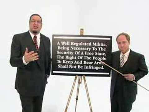 Penn & Teller on the 2nd Amendment      - YouTube
