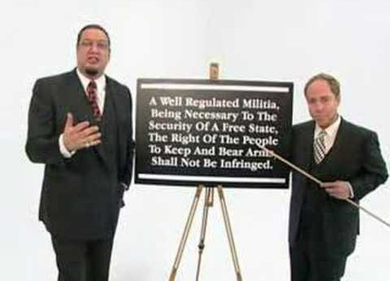 Penn & Teller on the 2nd Amendment      - YouTube
