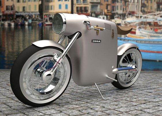 Monocasco Electric Bike by ART-TIC