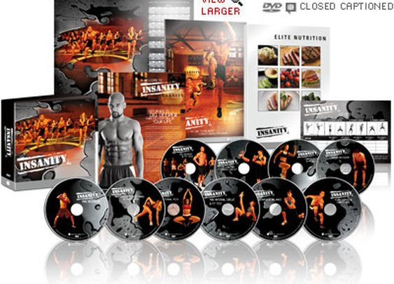 Insanity Workout - Extreme Home Workout DVD