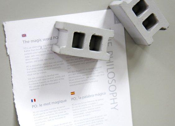 Cinder Block Magnets - Cool Material