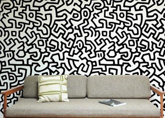 Keith Haring Pattern Wall Tiles