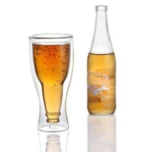 Hopside Down Beer Glass - DudeIWantThat.com
