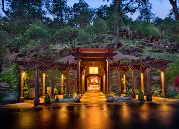Calistoga Ranch luxury hotel, resort and spa in Napa Valley, California