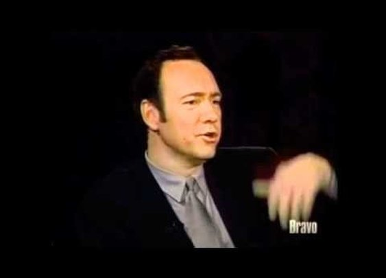Kevin Spacey does impersonations...