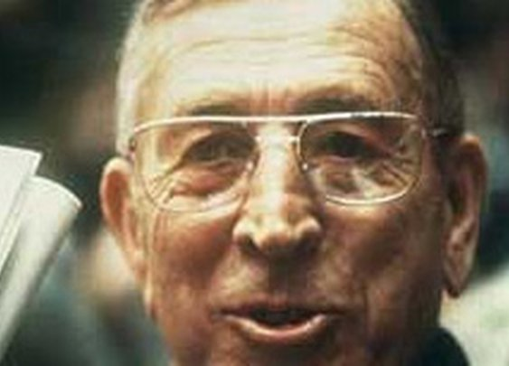 """Shout out to John Wooden - Best March Madness Coach of All Time"" - All Pro Dad"