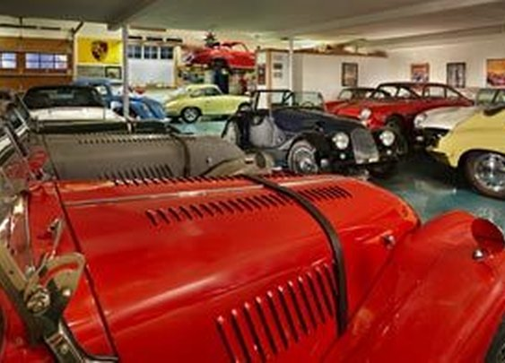 Seattle car-collector's garage is his castle