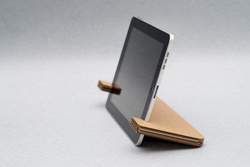 iPad cardboard stand