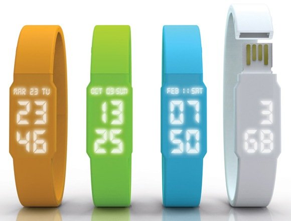 Led Watch and USB Flash Drive in one