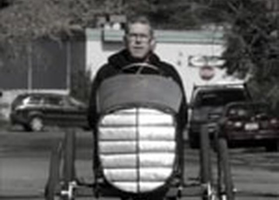 Figure 8 pedal Racer