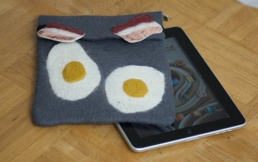 iPad  Bacon 'n Egg Case