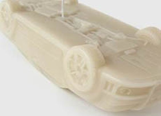 Burning Car Candle | Cool Material
