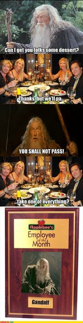 Gandalf Employee Of The Month