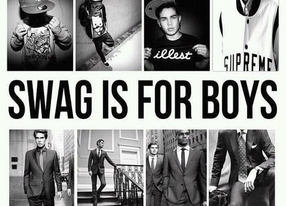 Swag Is For Boys Class Is For Men.