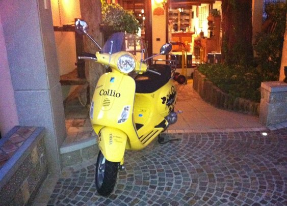 Collio in Vespa