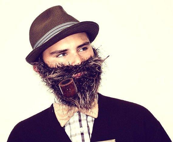 beard The Professor by TheMonkeyCannon on Etsy