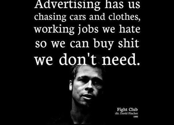Advertising has us chasing...