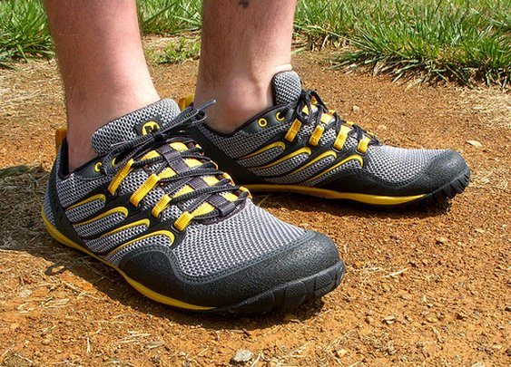Merrell's Trail Gloves for Bareform Running