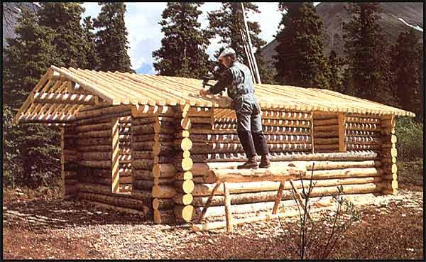 The Story of Dick Proenneke and how he built a cabin by hand in the wilderness