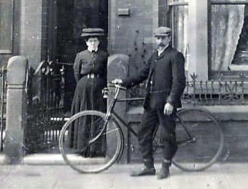 1890s-1920s MEN & BICYCLES
