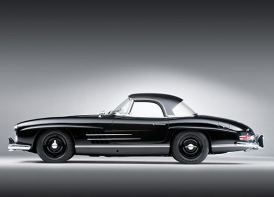 Mercedes-Benz 300SL Roadster (1960)