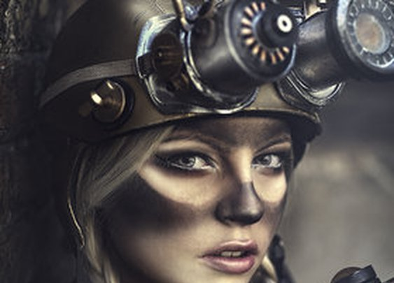 """Steampunk!"" by Rebeca Saray Gude"