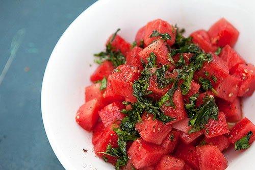 Watermelon Basil Salad — Chef Marcus Samuelsson