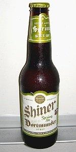 Spring Ale Dortmunder Style - Spoetzl Brewery - Shiner, TX - BeerAdvocate
