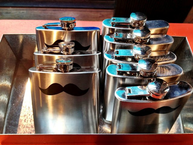 A Very Gentlemanly Hip Flask