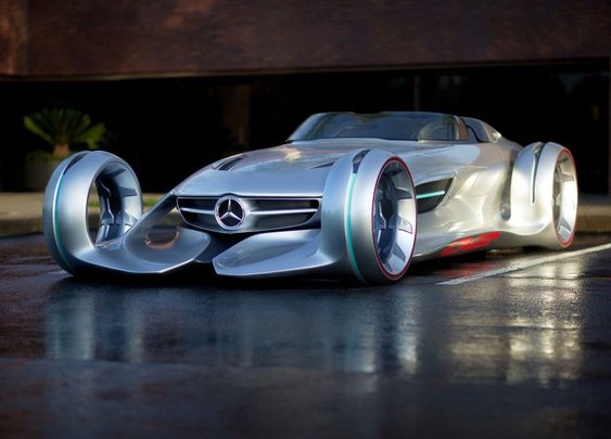 Mercedes-Benz Silver Arrow Concept Car