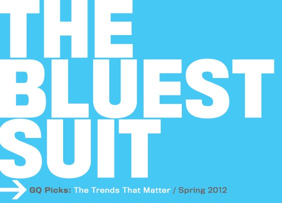 The GQ Spring 2012 Trend Report
