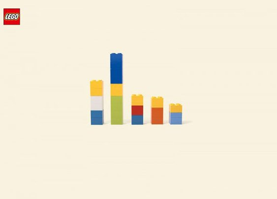 Minimalist LEGO Ads Return to Their Origins  | Apartment Therapy
