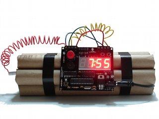 Defusable Alarm Clocks