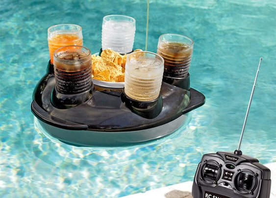 Remote Control Drink Float - DudeIWantThat.com