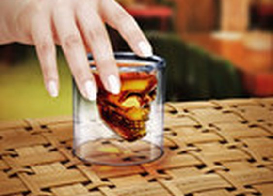 Crystal skull shot glass | Fab.com