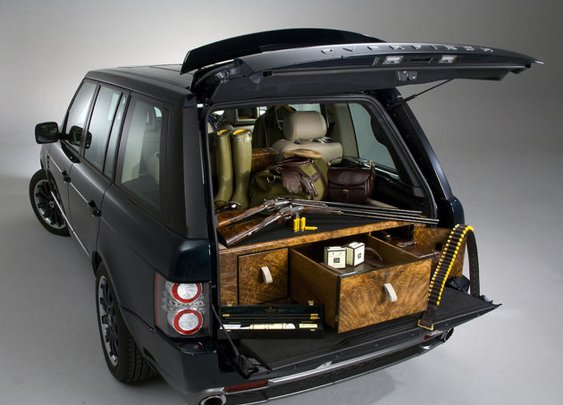 Holland & Holland Range Rover by Overfinch: Gun and booze hauling reaches its zenith