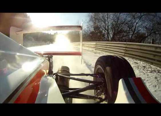NÜRBURGRING Formula Race Car. ICE and SNOW. NORDSCHLEIFE. GRAND PRIX TRACK. ANDY GÜLDEN.      - YouTube