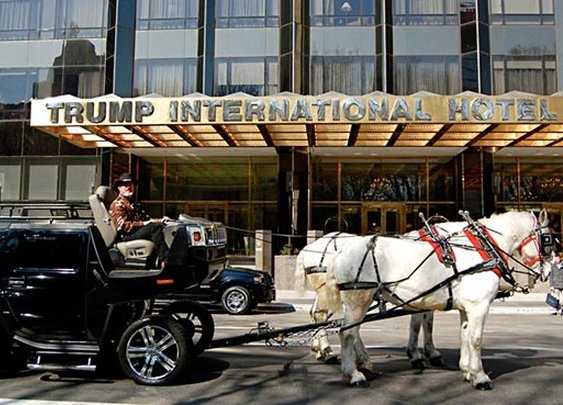 The Hummer Horse-Drawn Carriage