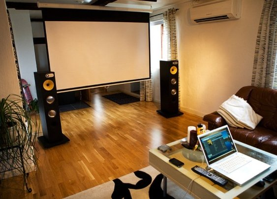 A Crash Course in Home Theater Projection Screens